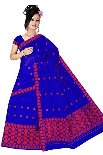 "Assamese Mekhela Chadar ""KALPANA-BLUE"""
