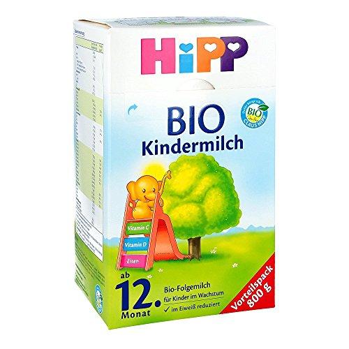 Hipp Bio Kindermilch Pulv 800 g - Sorgen Für Eine Hohe Calcium