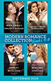 Modern Romance Books September Books 5-8: Shock Marriage for the Powerful Spaniard (Conveniently...