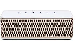 Riva S Altoparlante Bluetooth, Bianco/Oro