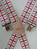Herren Hosenträger HEAVY DUTY Welt BRIMARC ENGLAND Becherdesign 5,08 cm 50 mm aus breiten M.K.TOOLS