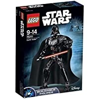Senti il potere del lato oscuro con Darth Vader Questa versione Lego costruibile dell'iconico Signore dei Sith Darth Vader è ricca di fantastici dettagli, fra cui arti completamente mobili, armatura nera, mantello di tessuto e una spada laser...
