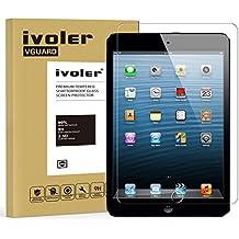 iPad Mini / iPad Mini 2/ iPad Mini 3 Protector de Pantalla Cristal, iVoler® Film Protector de Pantalla de Vidrio Templado Tempered Glass Screen Protector para Apple iPad Mini / iPad Mini 2/ iPad Mini 3 7.9''- Dureza de Grado 9H, Espesor 0,30 mm, 2.5D Round Edge-[Ultra-trasparente] [Anti-golpe] [Ajuste Perfecto] [No hay Burbujas]- Garantía Incondicional de 18 Meses