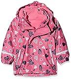 Sterntaler Kinder Mädchen gefütterte Regenjacke, 3in1 Multifunktionsjacke, Alter: 12-18 Monate, Größe: 86, Pink