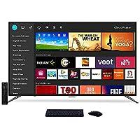 Cloudwalker 140 cm (55 Inches) 4K Ultra HD Smart LED Screen 55SUA7 (Black) (2019 Model)