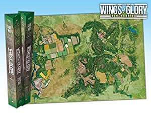 Wings Of Glory Game Mat: Countryside - Juego de Tablero (Aires Games) Importado