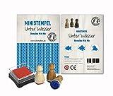 Mini Stempel Set 3er Pack / 10 verschiedene Motiv Mixe zur Auswahl - Unterwasser