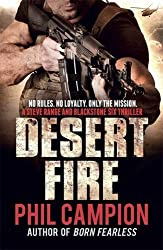 Desert Fire by Phil Campion (2012-09-27)