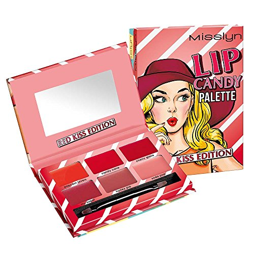 Misslyn Lip Candy Palette Nr.1 RED KISS EDITION, 13.34 g