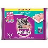 Whiskas Kitten Tuna in Jelly, Pouch, 85g x 4pack