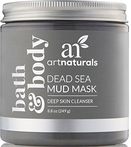 ArtNaturals Totes Meer Schlamm Gesichtsmaske - Anti-Aging Naturreine Tiefenreinigung - Ideal für Unreine Haut, Pickel und Mitesser - Regenerierend - Reich an Mineralien und Pflegenden Pflanzlichen Wirkstoffen - 250 ml