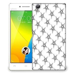 Snoogg Plenty Of Stars Designer Protective Phone Back Case Cover For VIVO Y51 L