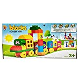 #8: Toy block train - number train
