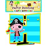 Bags of Room - Pirate Birthday Garland - Partyware - Banner Bunting 210cm