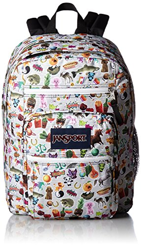 JanSport - Mochila con diseño de pegatinas, unisex, Multi Stickerss, medium