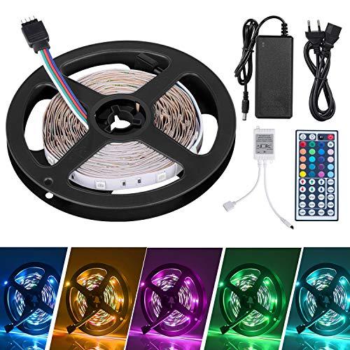 Adoric 5m Tiras LED Tiras Luces LED Iluminación 150