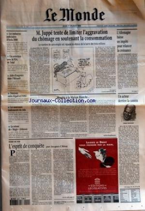 MONDE (LE) [No 15867] du 01/02/1996 - LE...