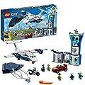 Lego 60210 City Polizei Fliegerstützpunkt, bunt