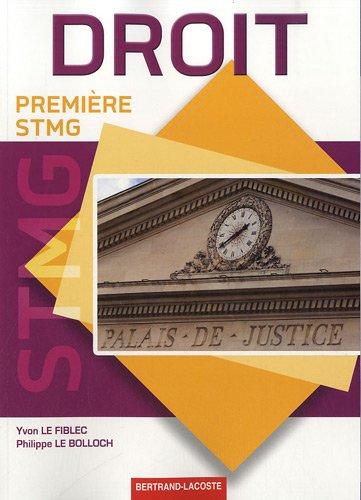 Droit Premiere Stmg
