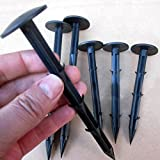 Garden Securing Pegs 30 PCS Landscape Fabric Peg 11CM Ideal for Securing Weed Fabric