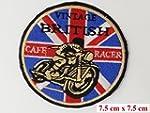 Cafe Racer - Ovaler 7,62cm großer, ru...