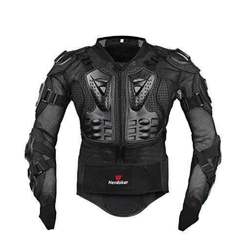 Motorrad Schutz Protektoren Motorradjacke Hemd Brustschutz Fallschutz Schutzjacke M-XXXL (Mesh-herren-motorrad-jacke)