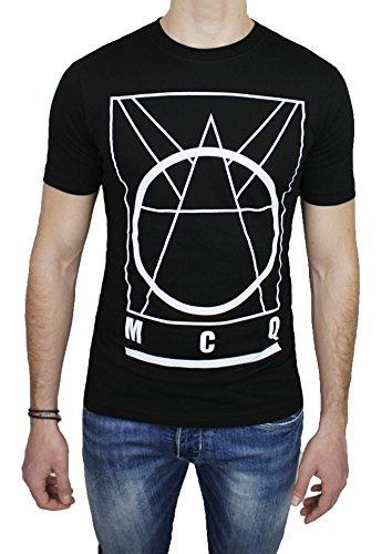 Alexander Mcqueen Jeans (MCQ Alexander McQueen Herren T-Shirt schwarz schwarz XX-Large)