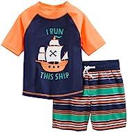 Simple Joys by Carter's traje de baño de 2 piezas para bebés y niños pequ