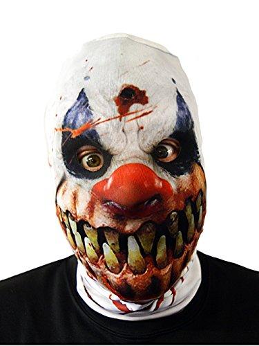 Stinkyface Horror Killer Clown realistisch Bedruckte Lycra Full -