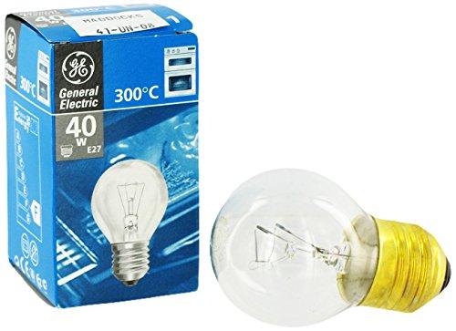 GE E27Ofen Lampe Glühbirne, 40W (Glühlampe Lampe Appliance)
