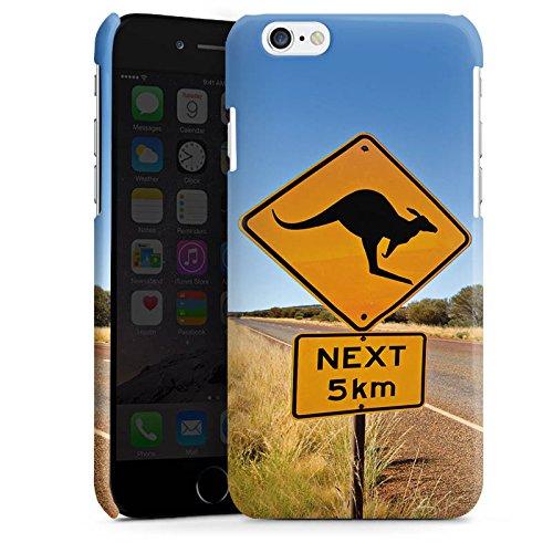 Apple iPhone 5s Housse étui coque protection Kangourou Australie Outback Cas Premium brillant