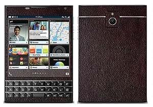 Royal Sticker RS.91982 Autocollant pour BlackBerry Passport avec Motif Cuir