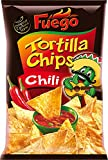 Fuego Tortilla Chips Chili, 150 g