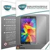 2 x Slabo Displayschutzfolie Samsung Galaxy Tab 4 7.0 Displayschutz Schutzfolie
