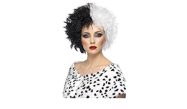 Le Point Fort pour Carnaval /& soir/ée /à th/ème NET TOYS Perruque Lara Croft avec Tresse Marron Accessoire pour Costume Femme Perruque de Carnaval Super-h/éro/ïne