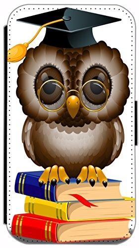 Kuna Flip Cover für Apple iPhone 5 / 5s Design K396 Farbspiel Blau Rot Grün Schwarz Hülle aus Kunst-Leder Handy Tasche Etui mit Kreditkartenfächern Schutzhülle Case Wallet Buchflip Rückseite Schwarz V K400
