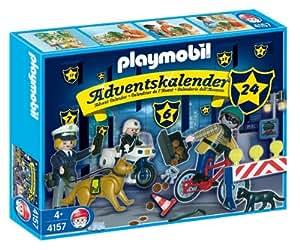 Playmobil 4157 adventskalender polizei auf - Playmobil basteln ...