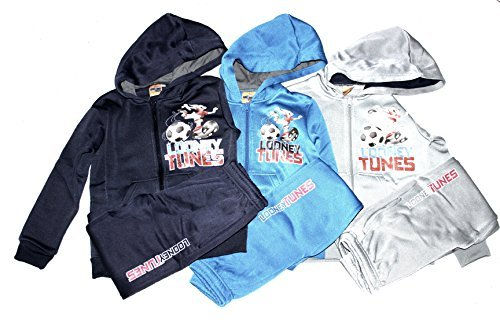looney-tunes-ensemble-garon-gris-taille-unique