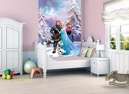 Official Children/Kids Disney Frozen Deco Wall Mural Wallpaper Part 88