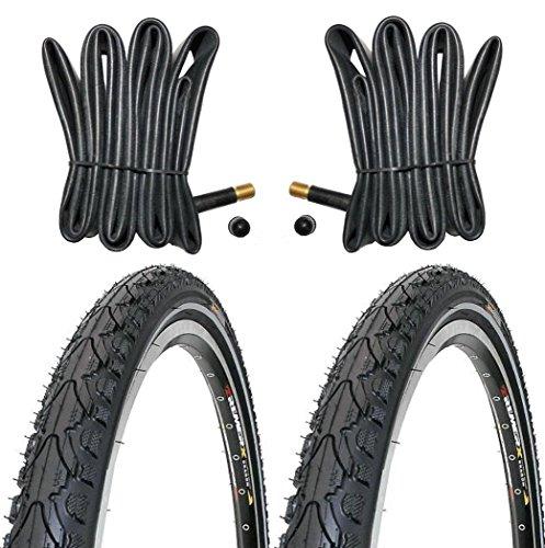 2 x Fahrradreifen Kenda Pannensicher 26 Zoll 26x1.95 50-559 K-Shield mit Reflexstreifen inklusive 2 x 26