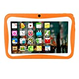 7 Zoll 1G + 8G 1024 * 600 Tablet Android A33 Auflösung Tablet Android Quad-Core Wireless Foto Learning Home Lehre Studenten Tablet-PC (Orange)