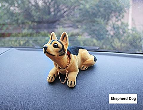 TankerStreet Bobble Head Dogs Puppy Bobbing Heads Dashboard Car Decoration Novelty Ornaments Gift Toys