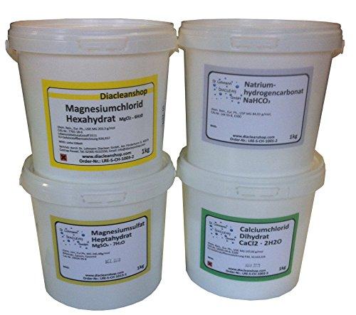 Aquarium Salz - Methode Salzkomponenten Set 4kg
