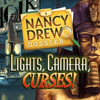 Nancy Drew Dossier Lights, Camera, Curses!