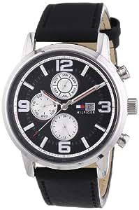 Tommy Hilfiger Herren-Armbanduhr Casual Sport XL Analog Quarz Leder 1710335