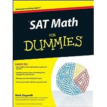 SAT Math For Dummies by Mark Zegarelli (2010-08-02)