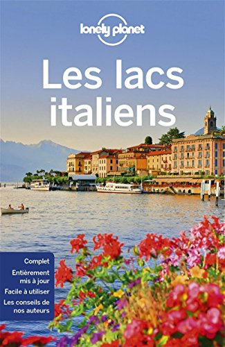 Lacs italiens - 3ed par Lonely Planet LONELY PLANET
