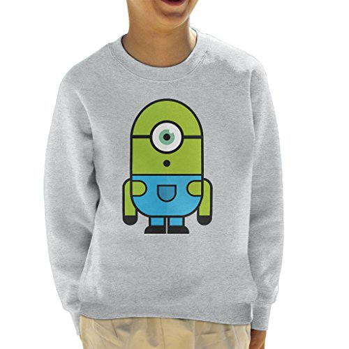 zovsky Despicable Me Monsters Inc Kid's Sweatshirt (Monster Inc Sweatshirt)