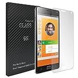 Laybomo für Lenovo Vibe P1 Schutzfolie 9H Härte Tempered Glass Bildschirmschutzfolie 99prozent Ultra-klar Panzerglas Folie Schutzfolie