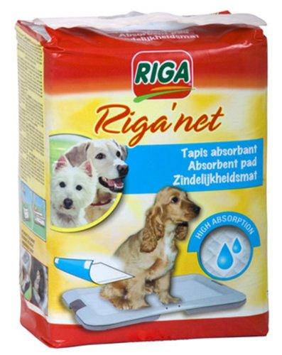 Riga 3632 - Tapis de Propreté - Net pour Chiens par 12